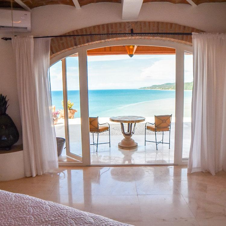La Gran Villa Sayulita - Master Bedroom Ocean View