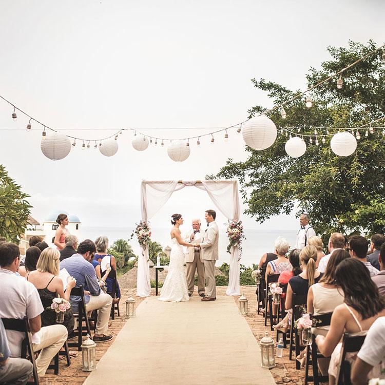 La Gran Villa Sayulita - Wedding Ceremony on the Patio
